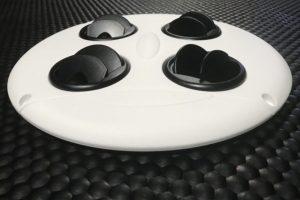 Slim Air Dæksel med dyser så udluftningsretningen kan styres